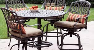 Bar Top Table Sets Patio U0026 Pergola High Top Patio Sets Outdoor Bar Height Bistro