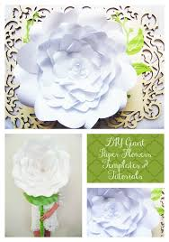 wedding backdrop template 34 best diy paper flowers images on paper flower
