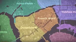 Map Of New Orleans Wards by New Orleans Gets The Video Game Treatment