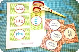 Business Card Luggage Tags Laminated Diy Personalized Bag Tags And Printables For Lunch Box And