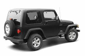 white four door jeep wrangler for sale 2003 jeep wrangler overview cars com