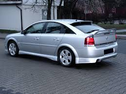 opel signum tuning vauxhall vectra c modified