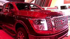 nissan truck titan red 2018 nissan titan xd pro 4x nv1500 diesel limited special first