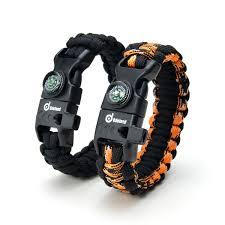 survival paracord bracelet kit images 2 pack multifunctional paracord bracelet odoland outdoor jpg