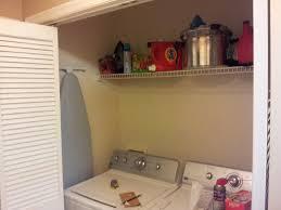 zabrina u0027s roses spring cleaning laundry closet redesign