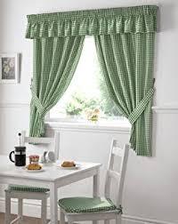 rideau de cuisine en rideaux cuisine vichy vert blanc cuisine carreaux attaches inclus