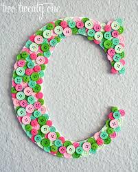 pinterest home decor crafts pinterest challenge button monogram