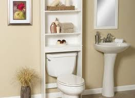 Black Over The Toilet Cabinet Bathroom Black Wooden Five Open Shelf Wall Cabinet With Black