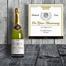 Anniversary Wine Bottles Personalised Gifts Gifts Ie