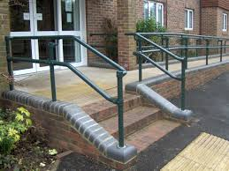 Handrails New Series 500 Ada Railing Systems To Build Ada Compliant