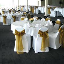 gold chair covers black chair covers with gold sash chair covers design