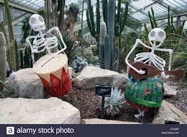 day of the dead skeletons playing musical instruments in the