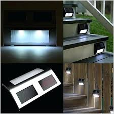 solar stair lights outdoor image of led stair lights deck solar