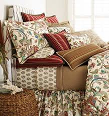 Ralph Lauren Comforter Cover Amazon Com Ralph Lauren Bedding Belle Harbor Red Floral Full
