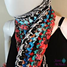 boho crochet basic boho crochet scarf allfreecrochet