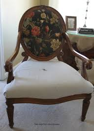 Recovering An Armchair How To Reupholster A French Armchair