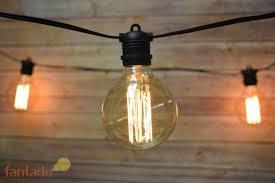 10 socket outdoor commercial string light set edison g95 squirrel