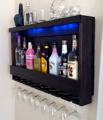 furniture floating wall mounted wine racks and rack wine storage