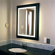 wall mounted makeup mirror with lighted battery elegant battery powered makeup lighted mirror or lighted makeup
