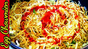 egg chowmein recipe indian style quick n easy simple recipe