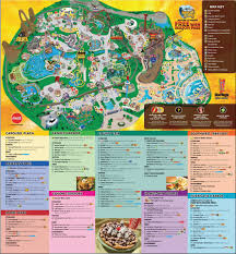 Dc Comics World Map by Park Maps