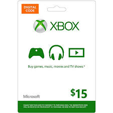 gift card email xbox live digital gift card 15 email d walmart