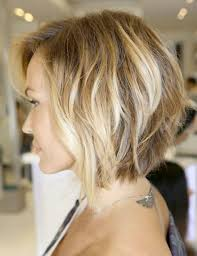 haircut bob wavy hair medium length haircuts women curly angled bob haircut pictures short