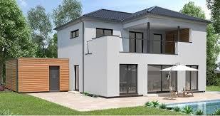 Streif Haus Modernes Stadthaus Mit Walmdach Architektur Und Dachterrasse