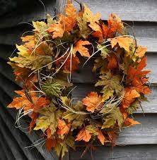 autumn wreath autumn wreath decorative wreaths wreaths flora decor