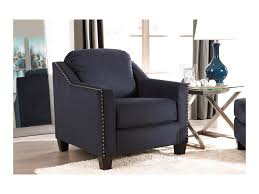 Living Room Chair Height Benchcraft By Ashley Creeal Heights Chair With Nailhead Studs