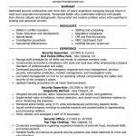Security Supervisor Resume Supervisor Resume Template Sales Supervisor Resume Template Sample