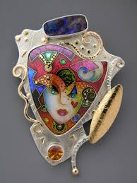 fashion china jewelry website jewel for true ladies brooch exquisite cloisonne from alexa and peter smarsh of enamelights