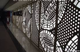 cnc aluminium hollowed and carved wall panel by jinzhu aluminium