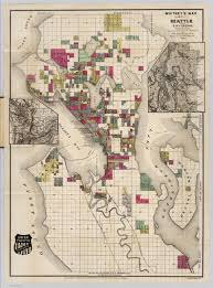 Map Of Seattle Seattle And Environs Washington David Rumsey Historical Map