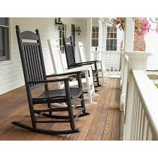 Recycled Plastic Rocking Chairs Jefferson Plastic Outdoor Rocking Chair Polywood Recycled