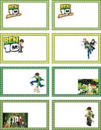 ben 10 party ideas free printables ben 10 printable party