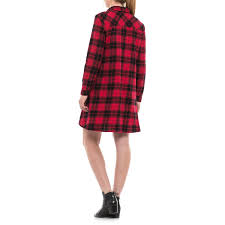 beach lunch lounge carly flannel shirt dress for women save 50