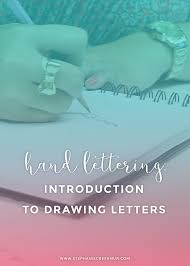 hand lettering how to draw letters u2013 winnie jean