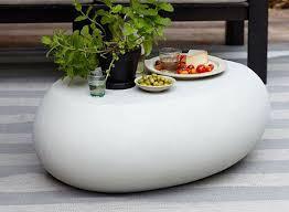 tables better living through design pebble coffee table coffee tables better living through design