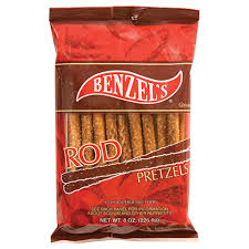 wholesale pretzel rods bulk benzel s pretzel rods 8 oz bags at dollartree