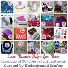 last minute gifts for 30 free crochet patterns that make great last minute gifts for
