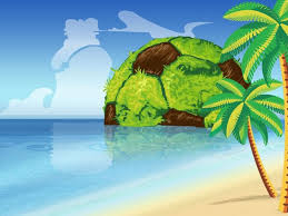 free tropika spirit of soccer backgrounds for powerpoint
