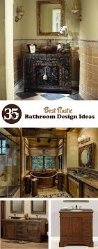 rustic bathroom design 35 best rustic bathroom design ideas interiorsherpa