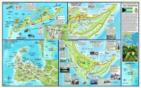 Map Bahamas Great Abaco Island Bahamas Adventure U0026 Dive Guide Franko Maps