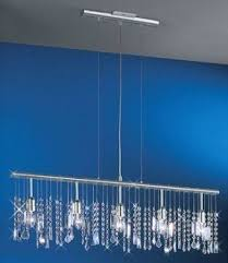 How To Make A Mini Chandelier Linear Crystal Chandelier Foter