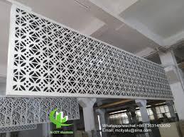 Metal Curtain Wall Metal Aluminum Facade Cladding Wall For Facade Curtain Wall With
