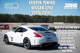 2009 nissan 370z quarter mile ecutek dyno tuning soho motorsports
