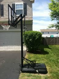 Backyard Basketball Hoops New Product To Anchor Your Portable Basketball Hoop No More