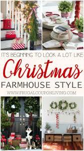 inspiring farmhouse christmas decor for the winter season