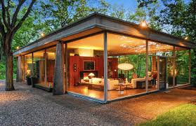 van der rohe protege designed glass house for sale daily southtown